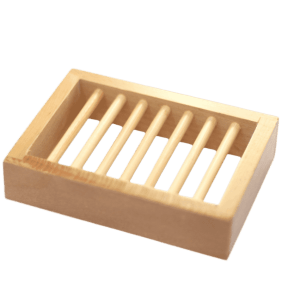 Porte savon bois platane